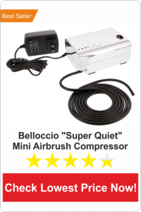 Belloccio-Super-Quiet-Airbrush-Compressor-best-quite-airbrush-compressor